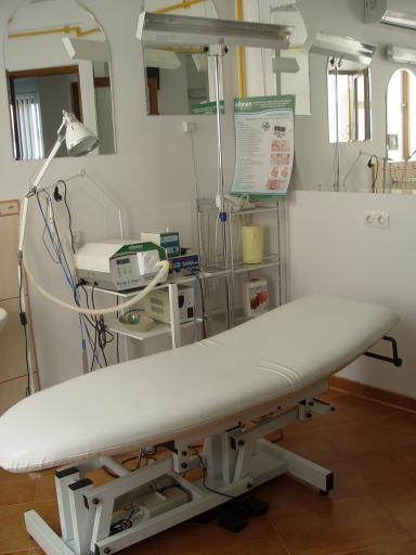 Sala pentru tratmente  Dermatologice
