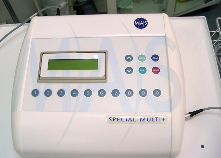 MAS- unitatea generatoare de pulsuri magnetice antialgice