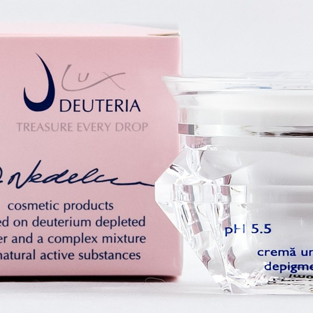Gama Deuteria Lux cu 'apa vie', in exclusivitate in farmaciile Help Net